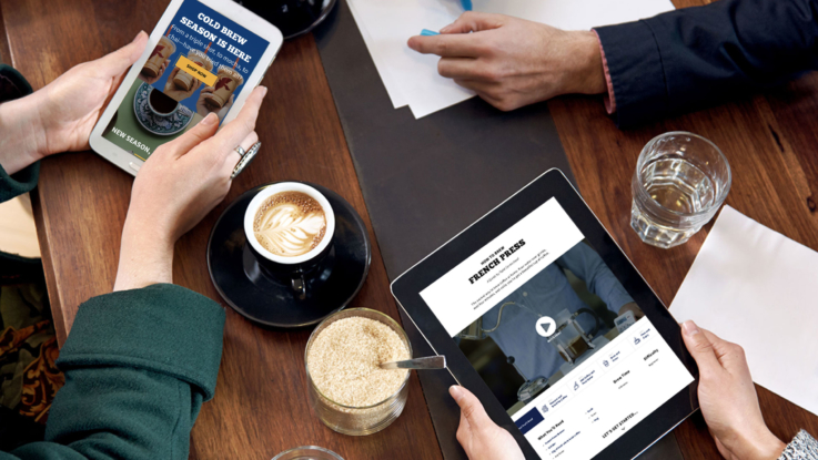 La Colombe - A Digital Cafe Experience