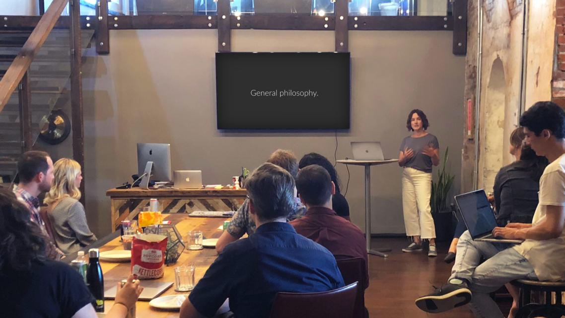 Careers - Professional Development - Beth Speaking