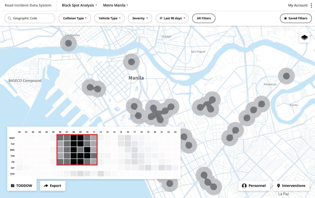 World Bank Driver app screen