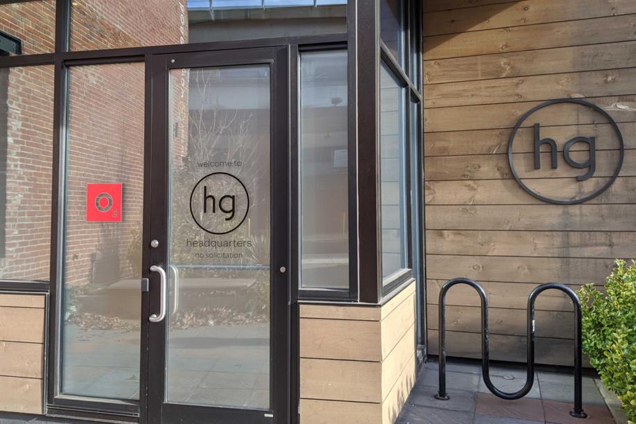 Door of the O3 World Honeygrow Space