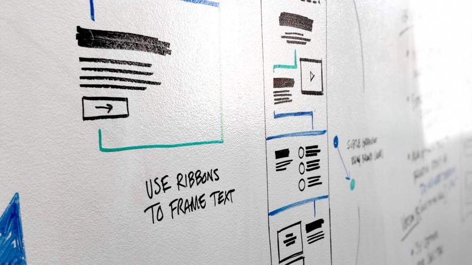 whiteboard wireframes