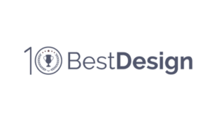 Logo for the 10 Best Design award.