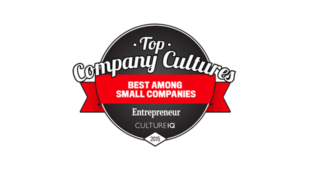 Logo for the Entrepreneur magazine Top Company Culture award.